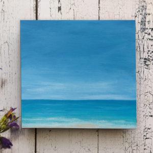 acrylic painting on deep edge canvas