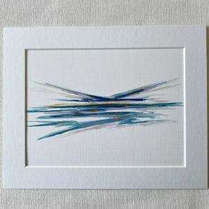 mini ink abstract painting pn paper